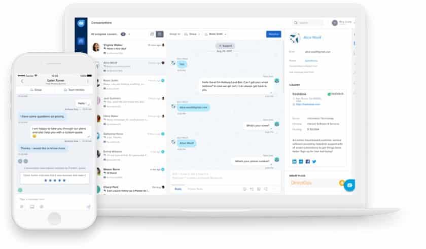 Freshchat communication platform