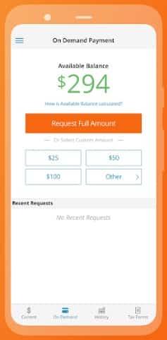 KORONA On Demand Payment dashboard