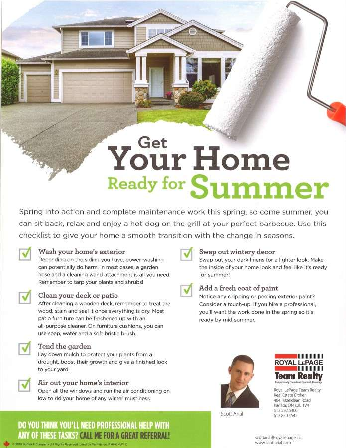 Seasonal Newsletters by Royal LePage Team Realty