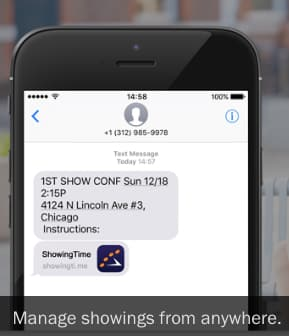 ShowingTime home showing scheduling app