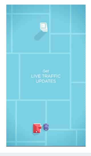 Waze road navigation app