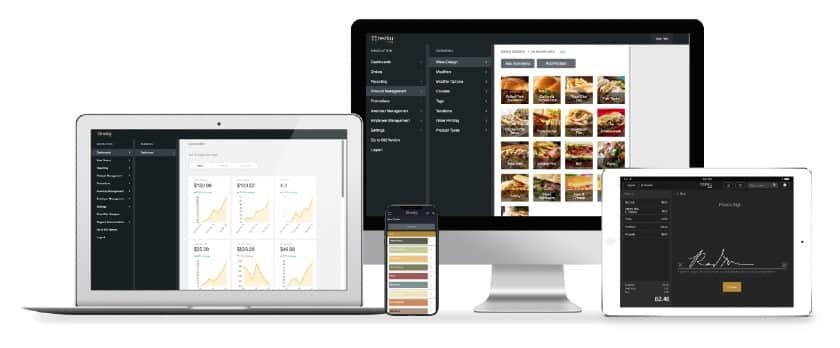 Screenshot of Rezkus Streamlined Interface Laptop iPad Phone iMac