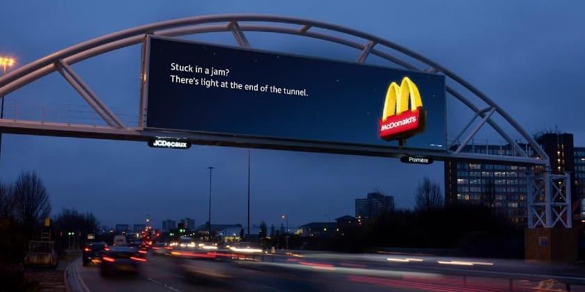 McDonalds digital billboards