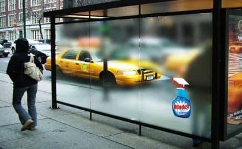 Windex outdoor advertising