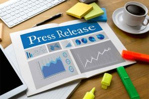 Press Release book with writer materials