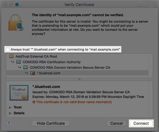 Apple - Verify Certificate