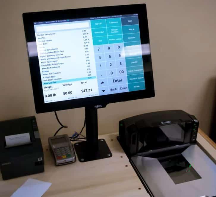 Screenshot of IT Retail scanners