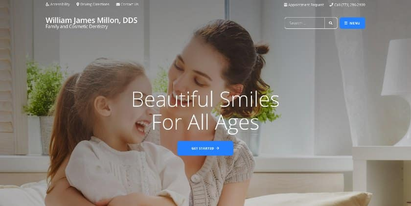 Jefferson Park Dental Landing Page