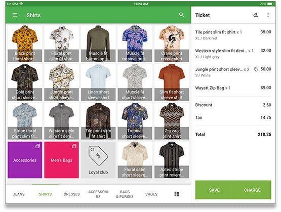 Screenshot of Loyverse Checkout