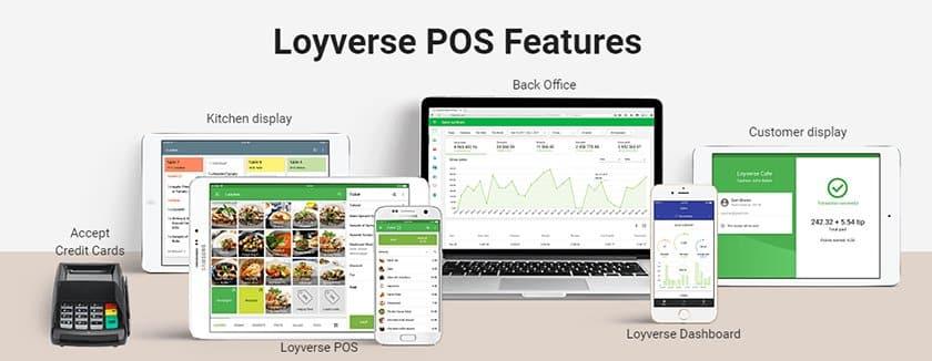 Screenshot of Loyverse Features