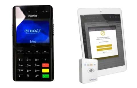 Screenshot of Salon Iris desktop and mobile card