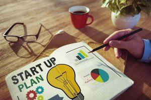 start up plan on notebook