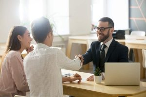 Smiling Lawyer Realtor Financial Advisor