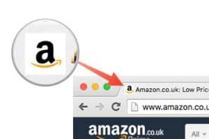 Amazon's favicon