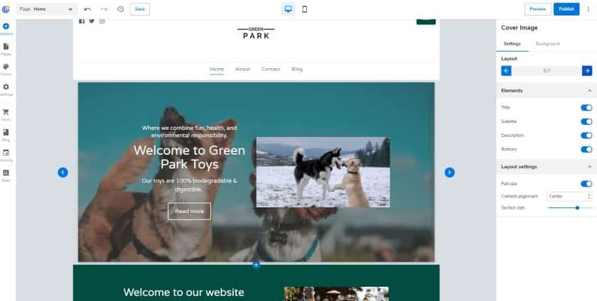 Adding and Updating your site layout