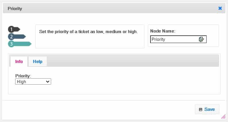Screenshot of Agile CRM customer service solution
