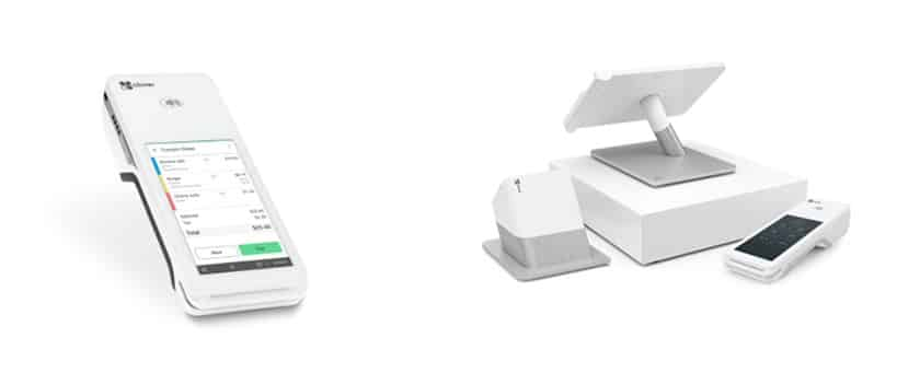 Screenshot of Fiserv Clover system devices