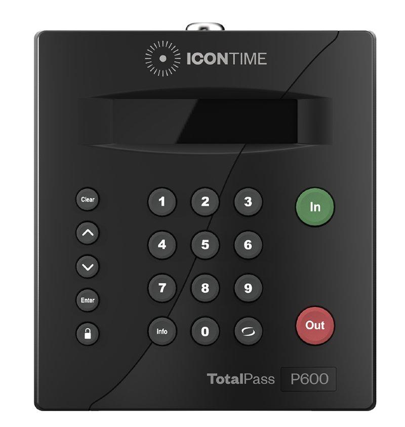 Icon Time TotalPass P600
