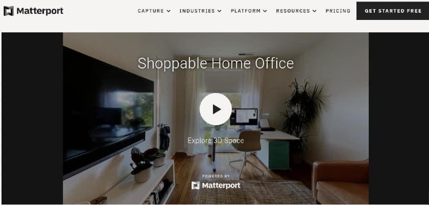 Matterport 3D digital tours
