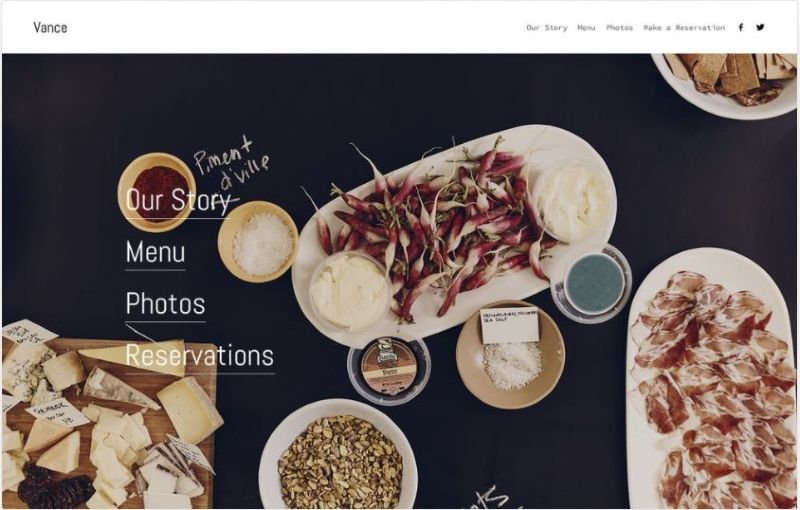 squarespace template example