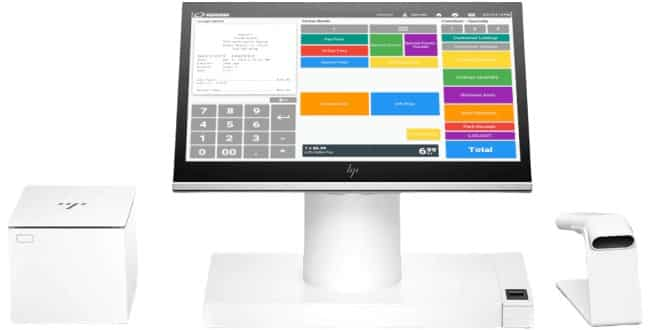 Screenshot of Korona POS Cash Register