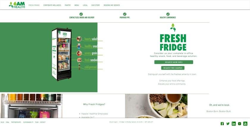 6AM Health website