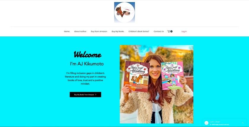 AJ Kikumoto website