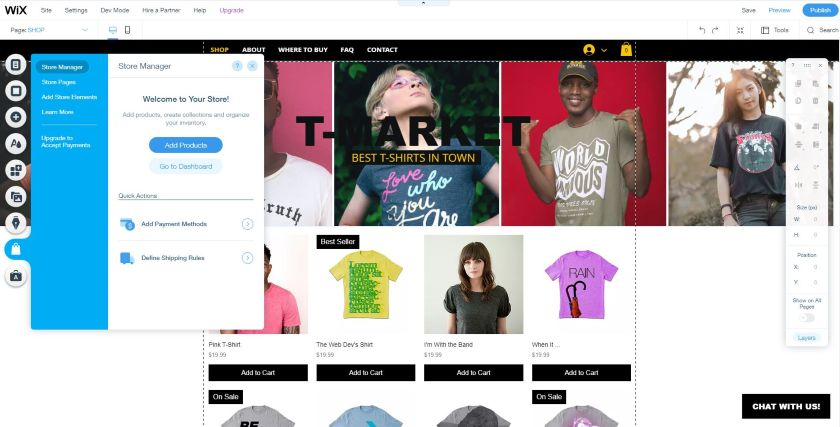 Add Products on your Wix online store