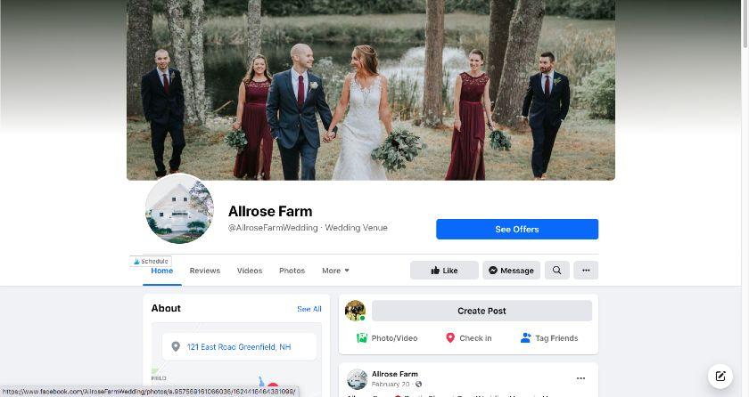 Allrose Farm Facebook page
