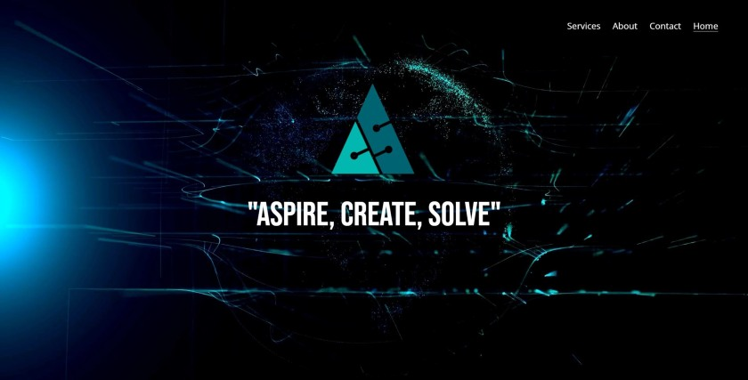 Aspire Create Solve website