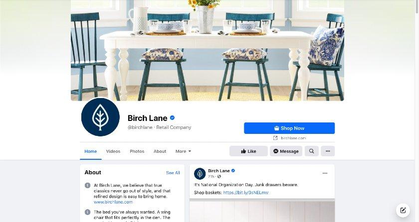 Birch Lane Facebook page