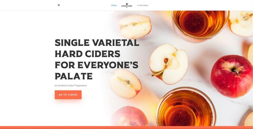 Cache Cider website