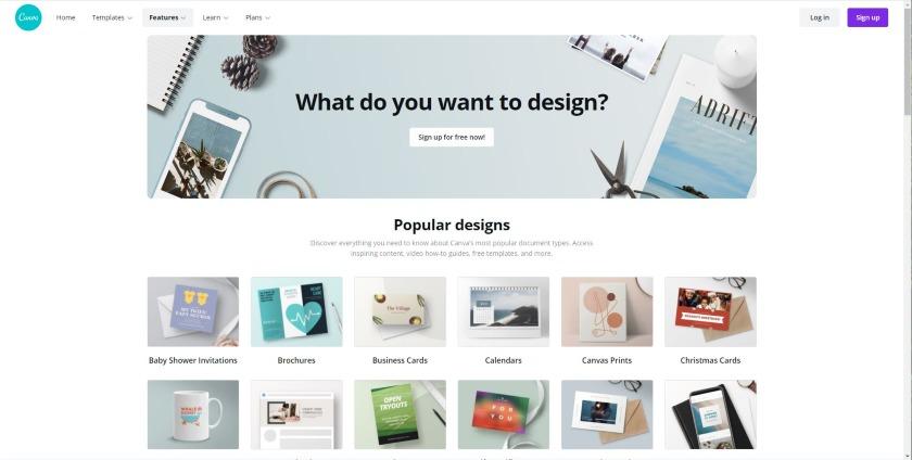 Canva Features Popular Designs