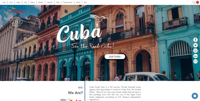 Cuba website