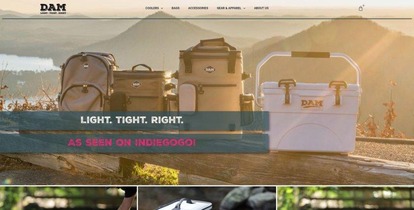 DAM website