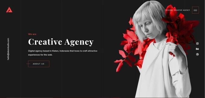 Digital Creative Agency website