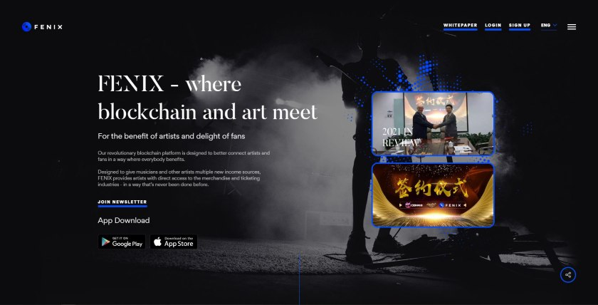 Fenix website