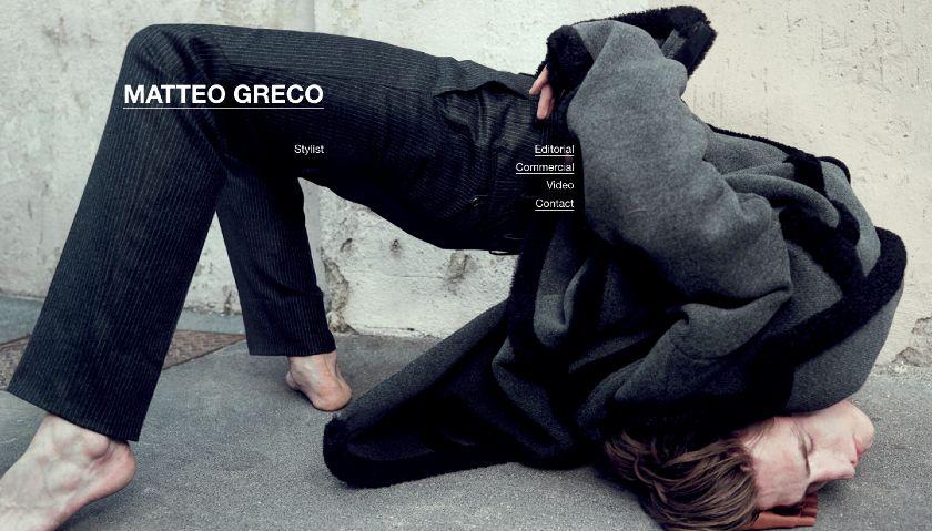 Matteo Greco website
