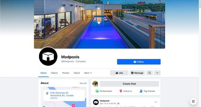 ModPools Facebook page
