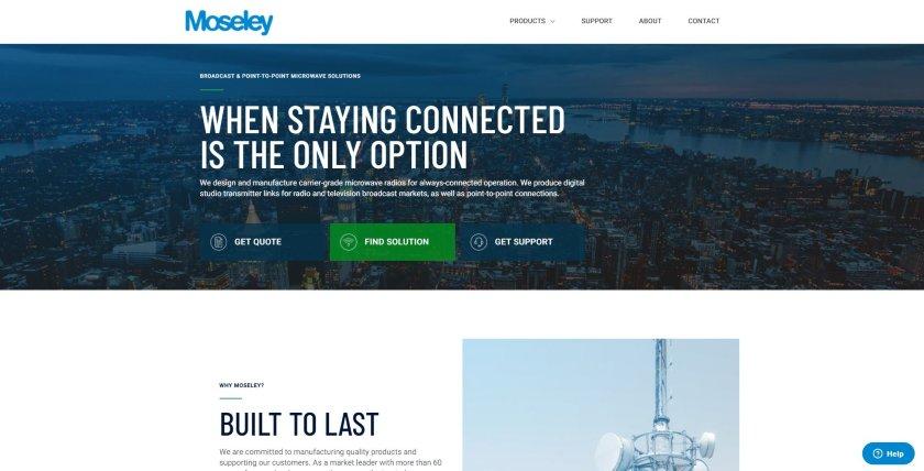 Moseley website