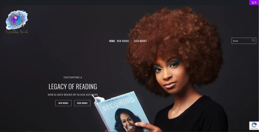 Nefertitis Novels website