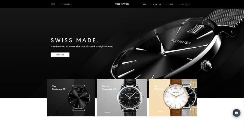 Rob Hayes website