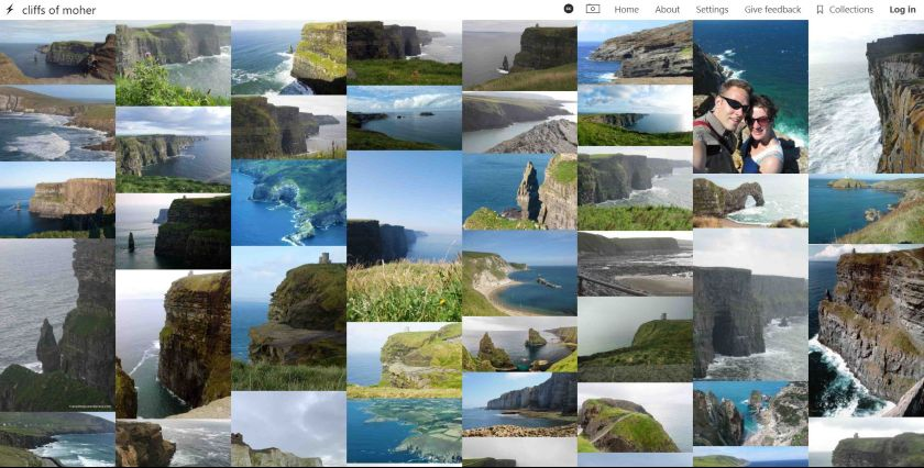 Same Energy search result on cliffs of moher photos