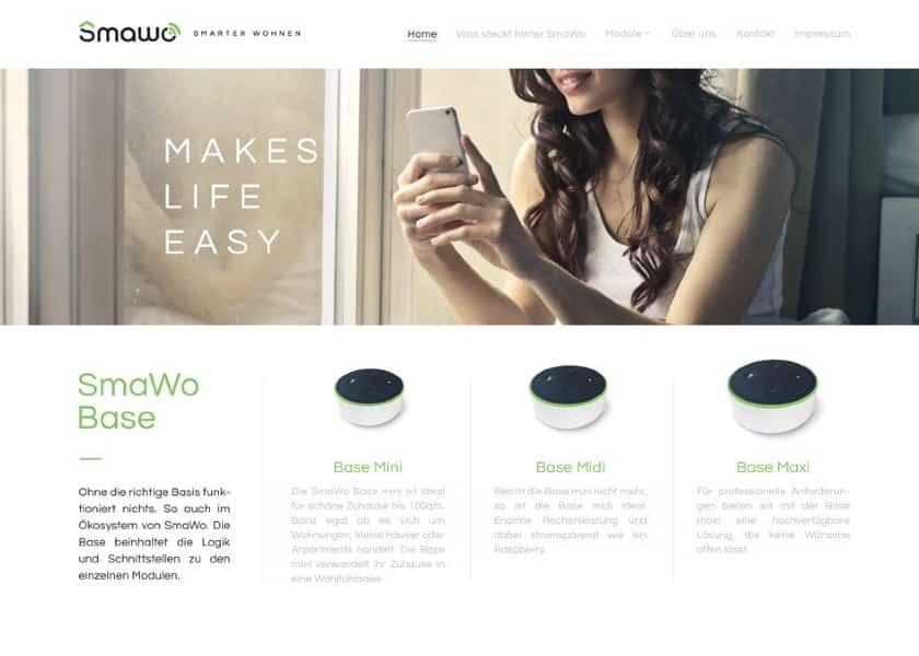 SmaWo website