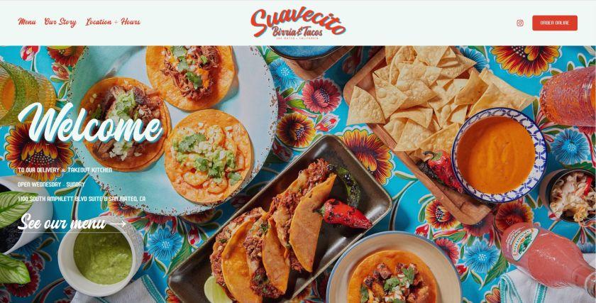Suavecito Birria And Tacos website