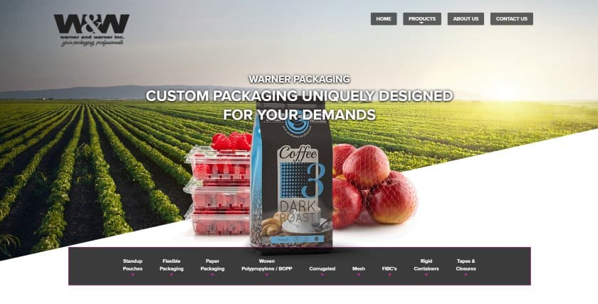 Warne and Warner Inc. website