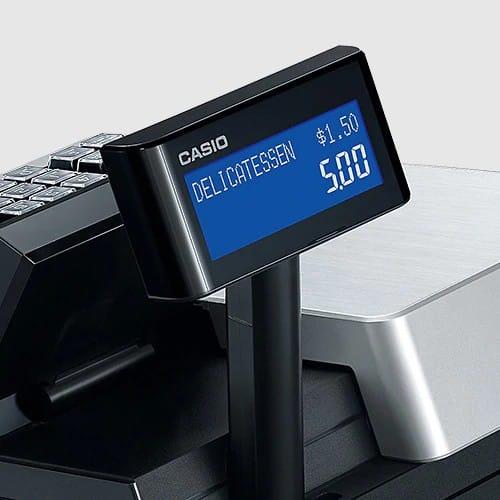 Screenshot of Casio SR-C4500 Popup Customer Display
