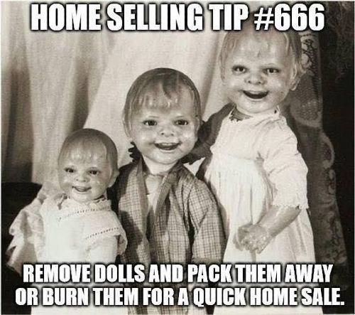 Screenshot of Home Selling Tip Meme