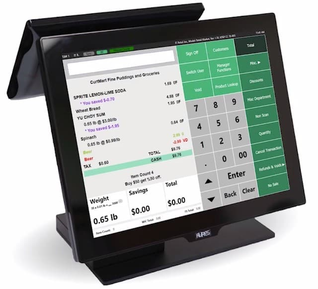 Screenshot of IT Retail Register