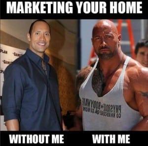 Screenshot of Marketing Your Home Meme